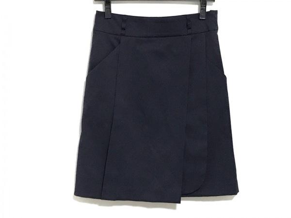 SOV.(ソブ ダブルスタンダード) スカート サイズ38 M レディース美品  ネイビー
