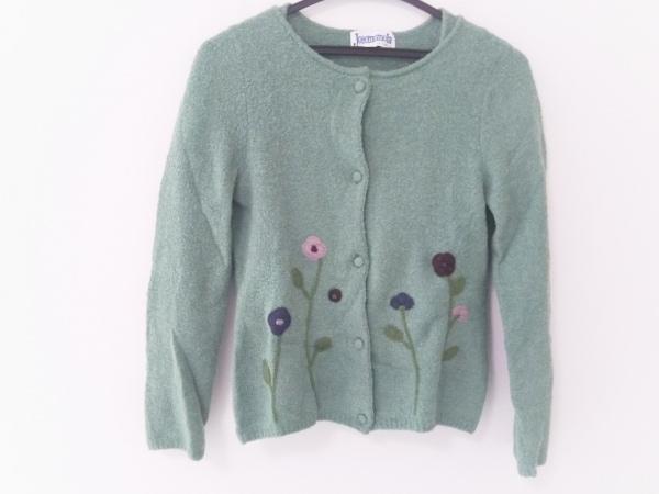 JOCOMOMOLA(ホコモモラ) アンサンブル レディース グリーン×マルチ 刺繍/花柄
