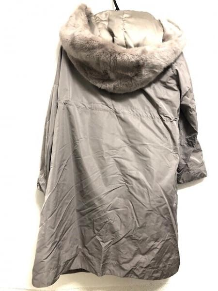 SWINSWING(スウィンスウィング) コート サイズ40 M レディース グレーベージュ 冬物