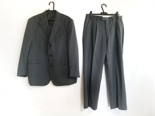 MALE&Co(メイルアンドコー) シングルスーツ サイズ98AB6 メンズ グレー ストライプ