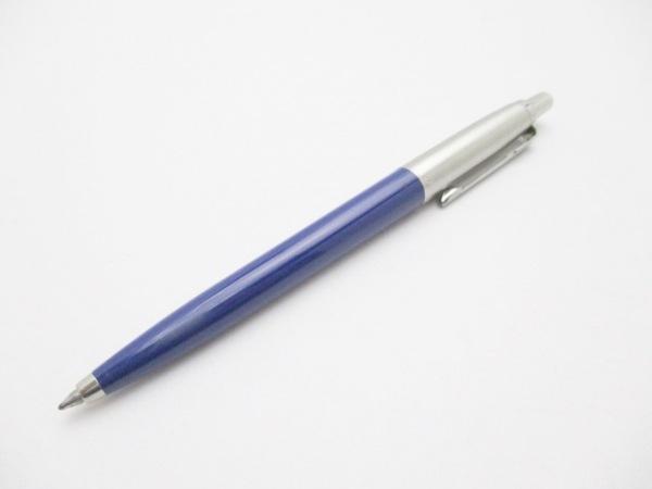 PARKER(パーカー) ボールペン ブルー×シルバー インクなし プラスチック×金属素材