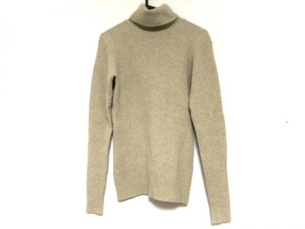 マーガレットハウエル 長袖セーター サイズ2 M レディース アイボリー タートルネック
