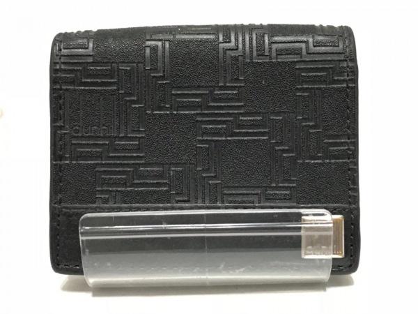 dunhill/ALFREDDUNHILL(ダンヒル) コインケース 黒 型押し加工 レザー