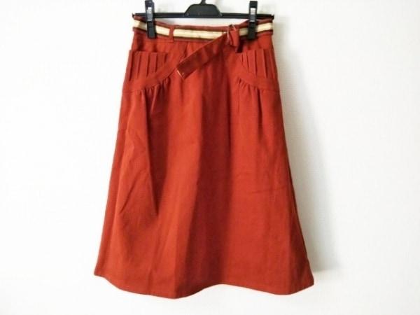 JOCOMOMOLA(ホコモモラ) スカート サイズ40 XL レディース美品  ブラウン