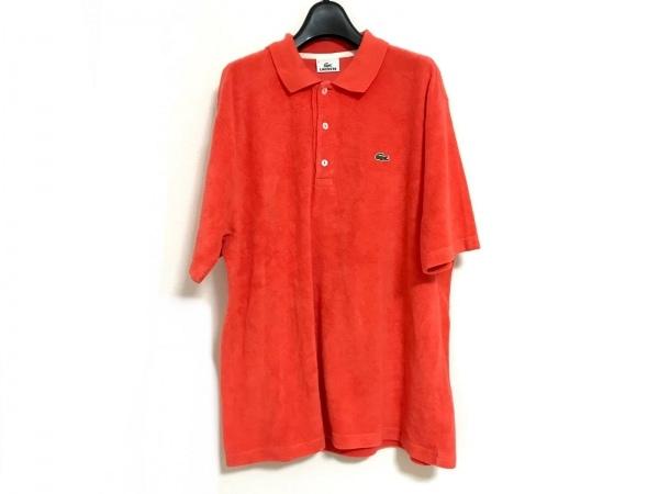 Lacoste(ラコステ) 半袖ポロシャツ サイズ5 XL メンズ美品  レッド パイル