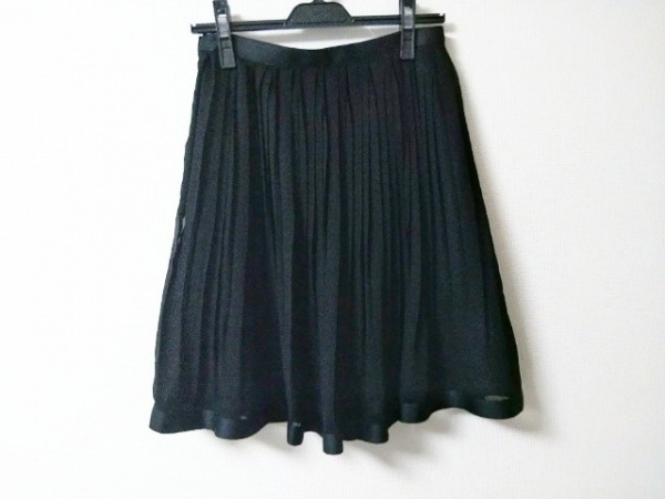 NARACAMICIE(ナラカミーチェ) スカート レディース美品  黒 プリーツ