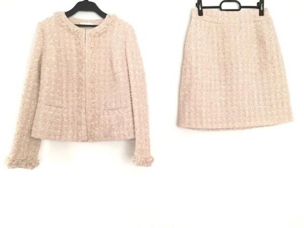 デビュードフィオレ スカートスーツ サイズ38 M レディース美品  ツイード/ラメ