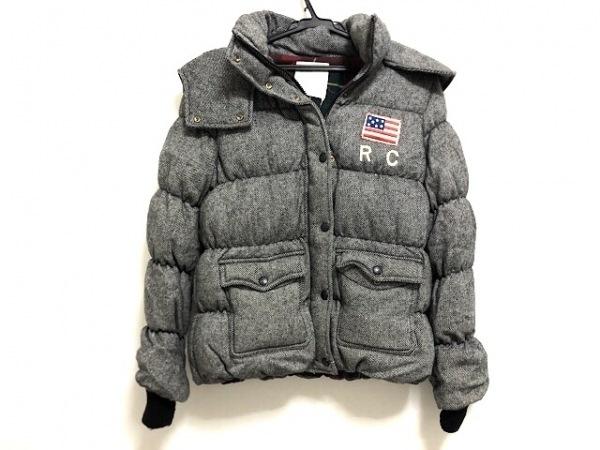 ロデオクラウンズ ダウンジャケット サイズ2 M レディース美品  グレー 冬物