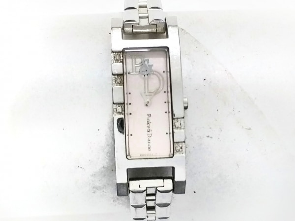 Pinky&Dianne(ピンキー&ダイアン) 腕時計 2E20-0AV0 レディース ベージュ
