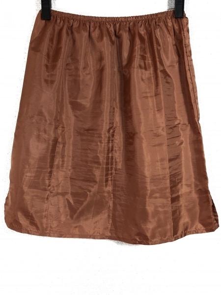 HIROKO BIS(ヒロコビス) スカート サイズ13AB L レディース ピンク×白 ベロア