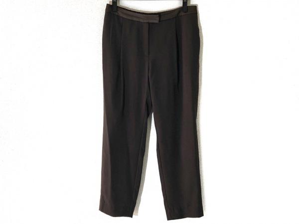 HIROKO BIS(ヒロコビス) パンツ サイズ13AB L レディース カーキ×ダークブラウン