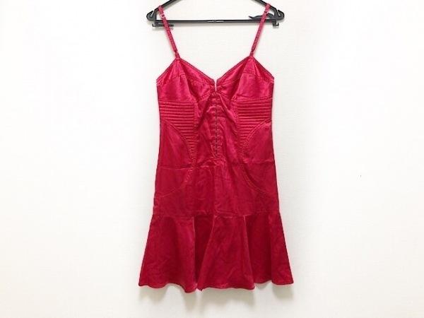 PAOLA FRANI(パオラ フラーニ) ドレス サイズI 40 レディース美品  レッド