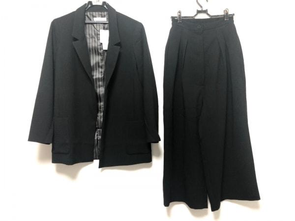 HIAND(ハイアンド) レディースパンツスーツ サイズF レディース美品  黒