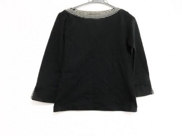 インゲボルグ 長袖セーター サイズM レディース美品  黒×アイボリー ドット柄