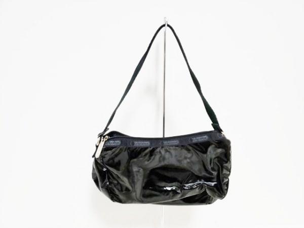 LESPORTSAC(レスポートサック) ハンドバッグ 黒 ミニサイズ 化学繊維