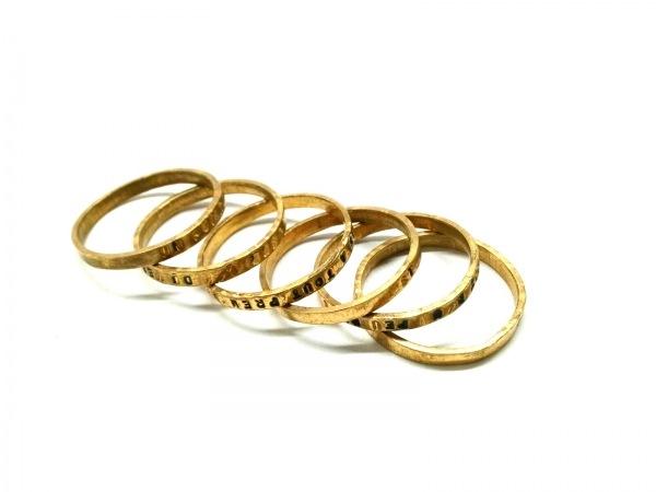 SERGE THORAVAL(セルジュ トラヴァル) リング 金属素材 ゴールド 6連
