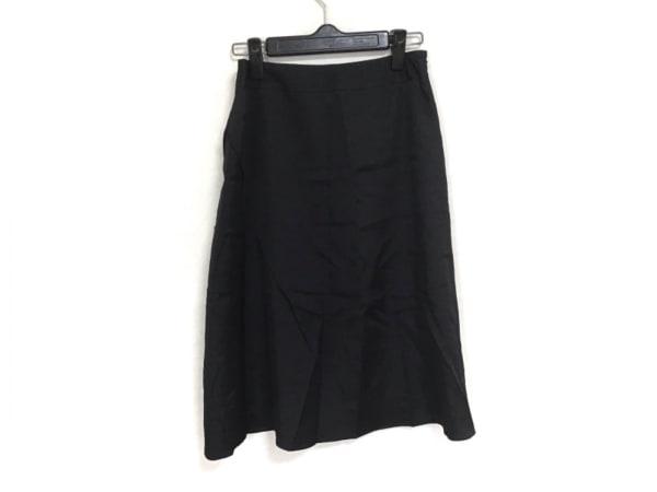 HIROKO BIS(ヒロコビス) スカート サイズ9 M レディース美品  黒