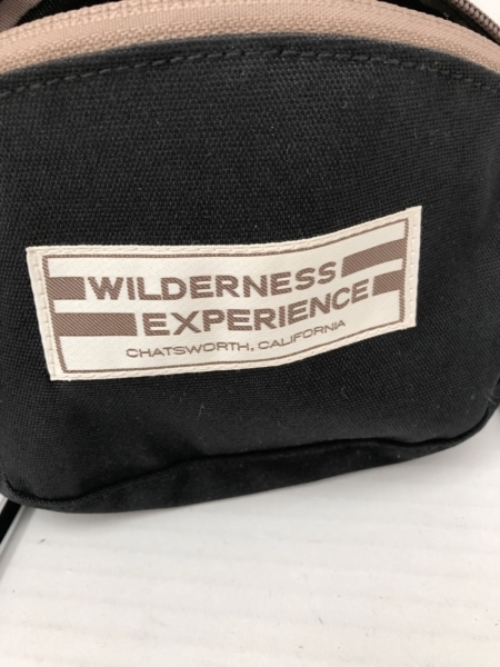 WildernessExperience(ウィルダネスエクスペリエンス) ウエストポーチ 黒 ナイロン