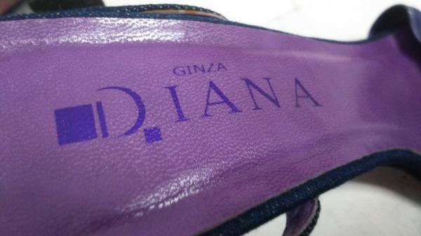 DIANA(ダイアナ) サンダル M レディース パープル レザー