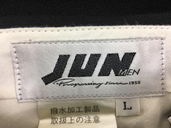 JUN MEN(ジュンメン) ダブルスーツ サイズL メンズ 黒 肩パッド