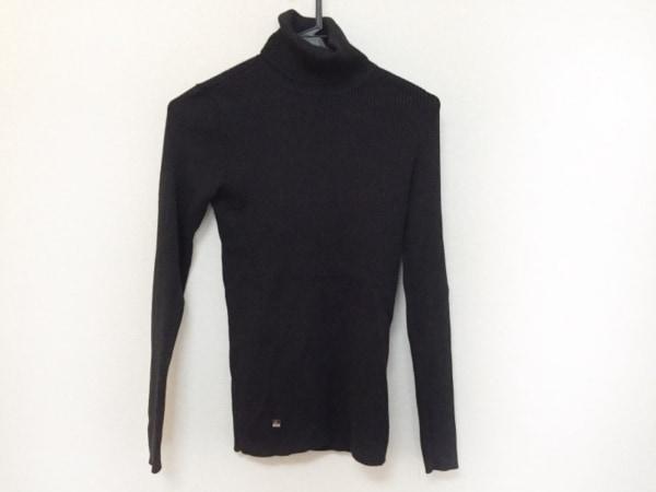 ラルフローレン 長袖セーター サイズS レディース  黒 タートルネック/ラメ