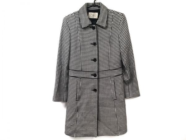 Aylesbury(アリスバーリー) コート サイズ9 M レディース美品  黒×アイボリー 冬物