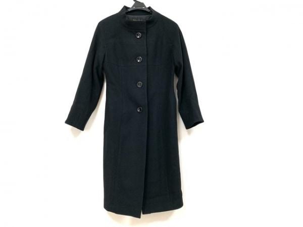 MADAME HIROKO(マダムヒロコ) コート サイズSS XS レディース 黒 肩パッド/冬物