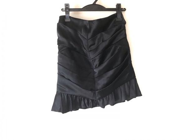 Pinky&Dianne(ピンキー&ダイアン) スカート サイズ36 S レディース 黒 フリル