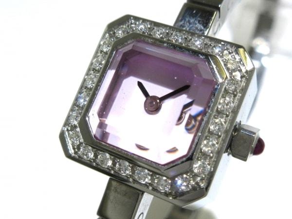 CORUM(コルム) 腕時計 シュガーキューブ 137.427.47 レディース ダイヤベゼル 白