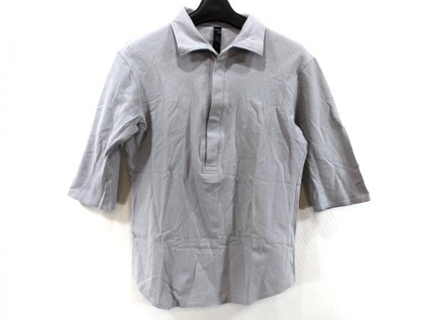 WJK(ダブルジェイケイ) 半袖ポロシャツ サイズM メンズ ライトグレー
