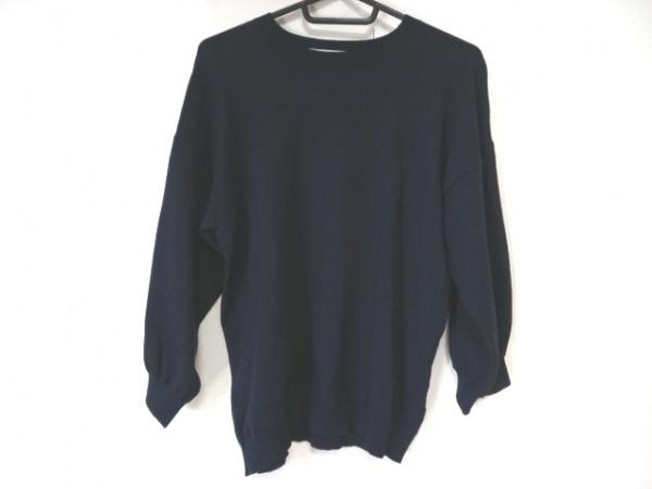 Mila Owen(ミラオーウェン) 長袖セーター サイズF レディース美品  ネイビー ニット