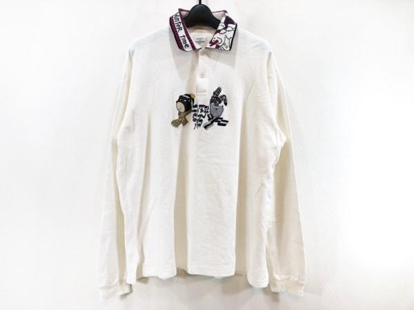 カステルバジャックスポーツ 長袖ポロシャツ サイズ5 XL メンズ美品