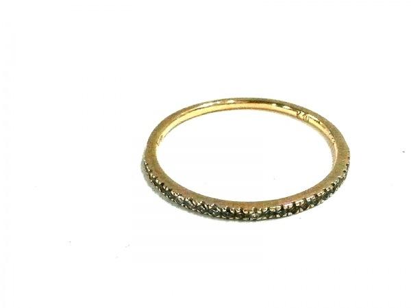 Arpege(アルページュ) リング美品  K10YG×ダイヤモンド 0.08カラット