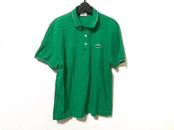 Lacoste(ラコステ) 半袖ポロシャツ サイズ5 XL メンズ美品  グリーン
