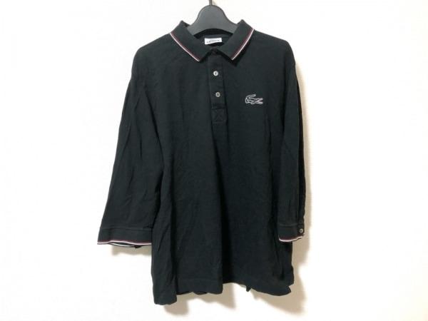 Lacoste(ラコステ) 長袖ポロシャツ サイズ5 XL メンズ 黒