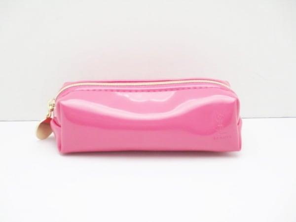 YvesSaintLaurent(イヴサンローラン) ポーチ ピンク BEAUTE PVC(塩化ビニール)