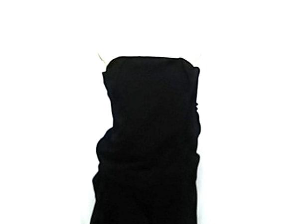 Acne(アクネ) ワンピース サイズ38 L レディース 黒 ベアトップ