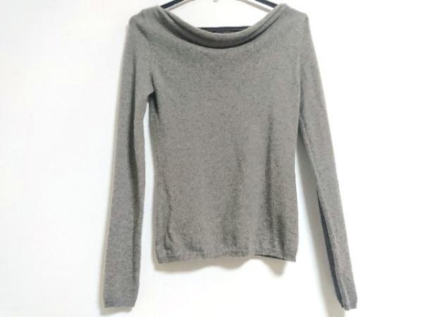 TSE(セイ) 長袖セーター サイズS レディース ダークブラウン カシミヤ