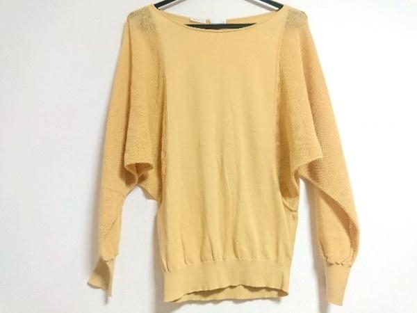TSE(セイ) 長袖セーター サイズS レディース新品同様  イエロー