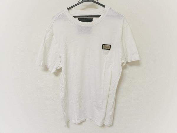 PHILIPP PLEIN(フィリッププレイン) 半袖Tシャツ メンズ 白