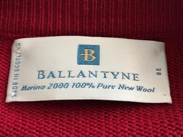 Ballantyne(バランタイン) カーディガン サイズ38 M レディース美品  レッド