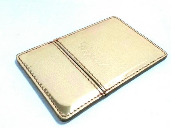Chopard(ショパール) ミラー美品  ゴールド ミラー レザー