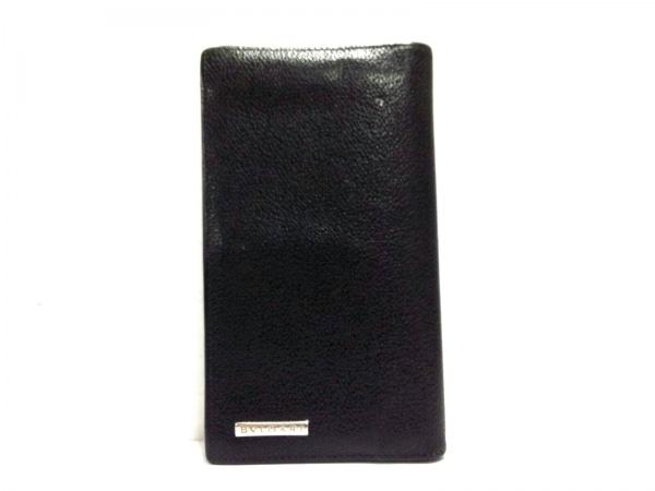 BVLGARI(ブルガリ) 長財布美品  - 黒 レザー