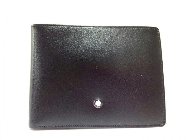 MONTBLANC(モンブラン) 札入れ美品  黒 レザー