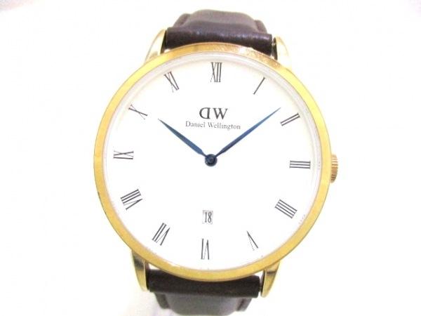 Daniel Wellington(ダニエルウェリントン) 腕時計 B38R5 ボーイズ 白