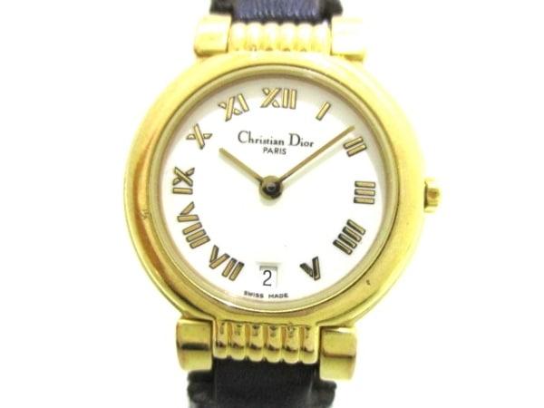 ChristianDior(ディオール) 腕時計 48.124 レディース 白