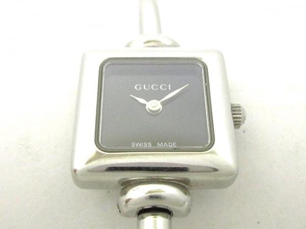 GUCCI(グッチ) 腕時計 1900L レディース 黒