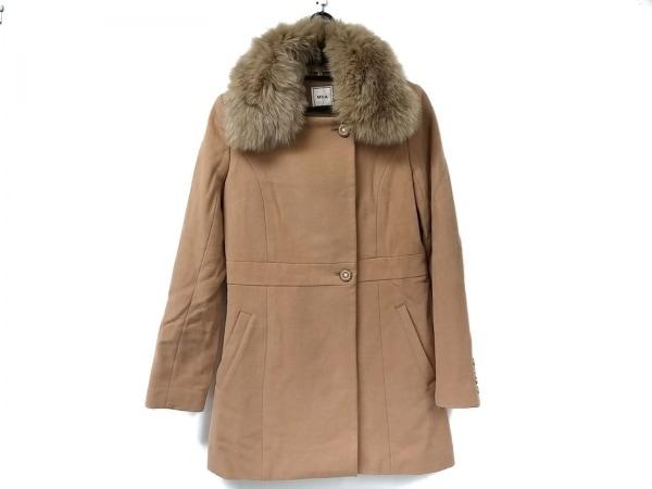 Miia(ミーア) コート サイズ1 S レディース美品  ライトブラウン 冬物