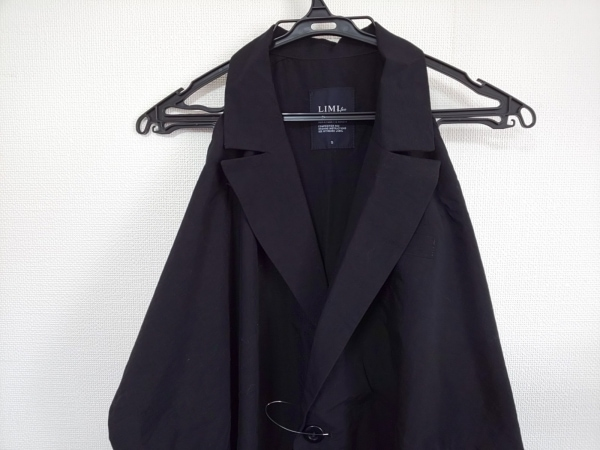 LIMI feu(リミフゥ) ワンピース サイズS レディース美品  黒 変形デザイン