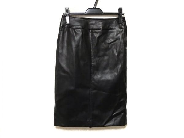 Pinky&Dianne(ピンキー&ダイアン) スカート サイズ38 M レディース 黒 レザー